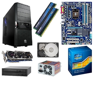 GIGABYTE GA-Z68AP-D3 Core i5-2500k Barebones Kit