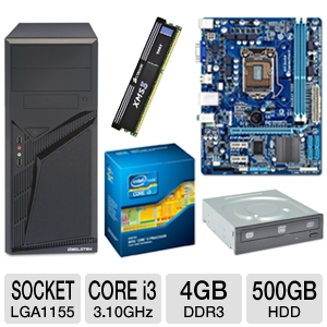 GIGABYTE GA-H61M-DS2 Intel H61 Motherboard Bundle