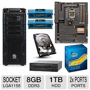 ASUS SABERTOOTH Intel Z77 Unlocked Barebones Kit