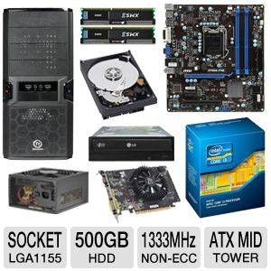 MSI Intel B75 Motherboard Bundle