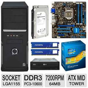 ASUS Intel B75 Motherboard Bundle