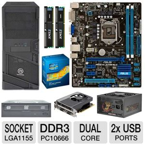 ASUS P8H61-M LE/CSM R2.0 8GB Dual Core Bundle