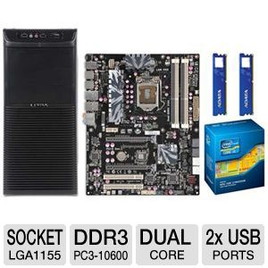 ECS P67H2-A2 8GB Dual Core Bundle