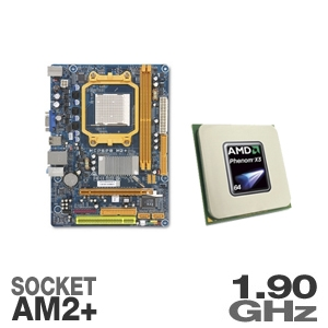 Biostar MCP6PB M2+ Motherboard and AMD Phenom X3 8
