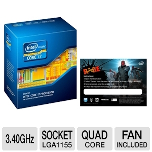 Intel Core i7-2600 3.4GHz with RAGE Game Download