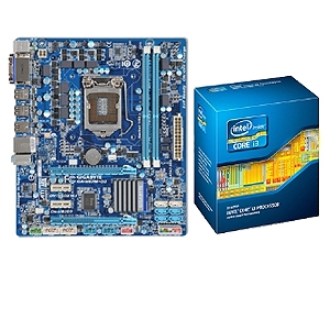 Gigabyte GA-H67M-D2-B3 & Intel Core i3-2100 Bundle