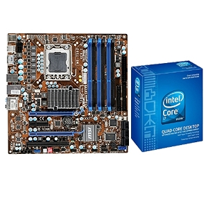 MSI X58M Motherboard and Intel Core i7-940 Bundle
