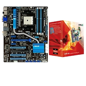 ASUS F1A75-V PRO and AMD A8-3850 APU Bundle