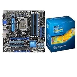 ASUS P8H67-M Pro B3 Board and Core i3-2120 Bundle