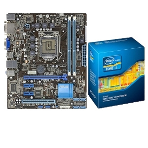 ASUS P8H61-M LE CSM REV3 & Core i3-2120 CPU Bundle