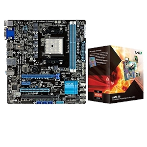 ASUS F1A75-M LE and AMD A6-3670K APU Bundle