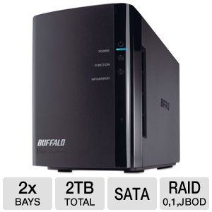 Buffalo LinkStation Duo 2TB Network Storage