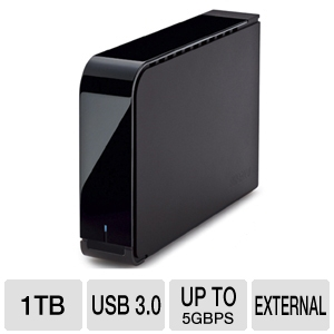 Buffalo 1TB External Hard Drive