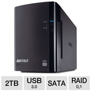 Buffalo DriveStation Duo 2TB Hard Drive