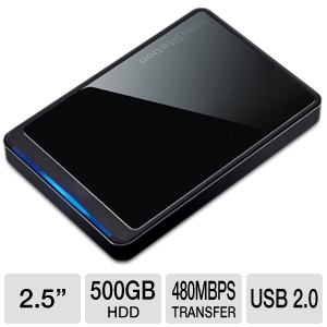 Buffalo MiniStation Stealth 500GB Hard Drive