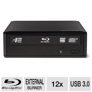 Buffalo MediaStation USB 3.0 12x Blu-Ray Burner
