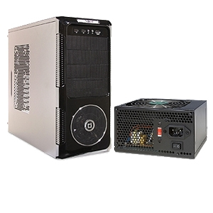 Diablotek ATX Mid-Tower Case and 550W PSU Bundle