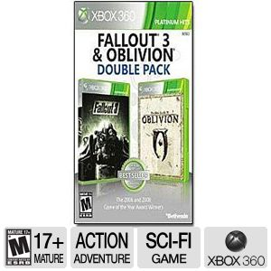 Platinum Hits Fallout 3 & Oblivion Double Pack