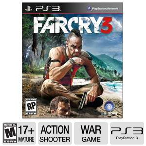 Ubisoft Far Cry 3 Playstation 3 Game
