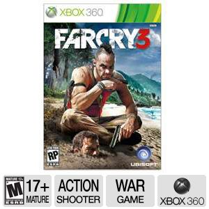 Ubisoft Far Cry 3 52631 Xbox 306 Game