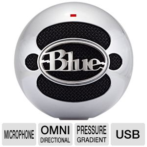 Blue Microphones SNOWBALLALUMINUM USB Microphone
