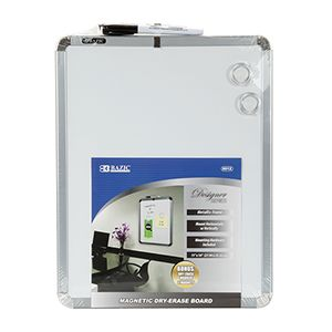 "Bazic 11"" x 14"" Magnetic Dry Erase Board - 601212"