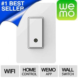 WEMO Smart Phone Enabled Light Switch