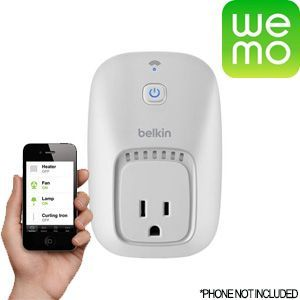 WEMO Appliance Switch for Smartphones and Tablets