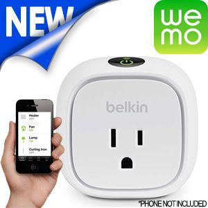 WEMO Switch w/ Energy Monitoring for Smartphones