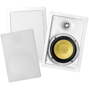 BIC AMERICA VK6W 6.5&quot; 2-Way In-Wall Speakers