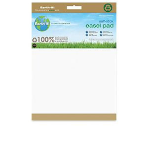 Mastervision Earth Self-Stick Easel Pad 35.5x25/2