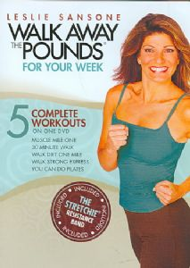 LESLIE SANSONE:WALK AWAY THE POUNDS F - DVD Movie