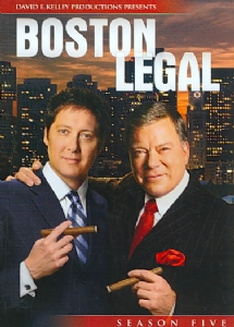 BOSTON LEGAL SEASON 5 - Format: [DVD Movie]