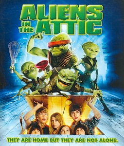 ALIENS IN THE ATTIC - Blu-Ray Movie