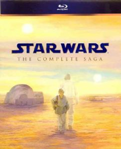 STAR WARS:COMPLETE SAGA - Blu-Ray Movie