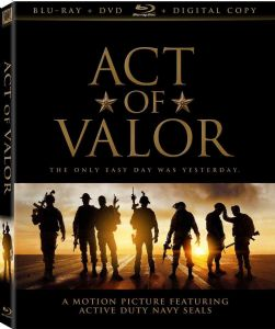 ACT OF VALOR - Blu-Ray Movie