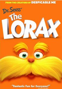 DR. SEUSS THE LORAX - DVD Movie