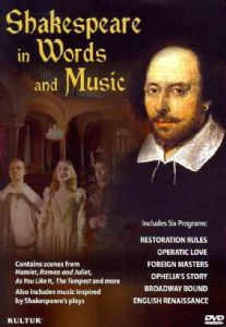 SHAKESPEARE IN WORDS AND MUSIC - Format: [DVD Movi