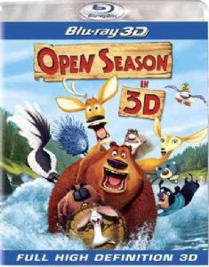 OPEN SEASON 3D - Blu-Ray Movie