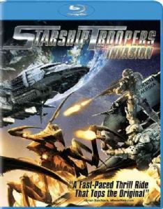 STARSHIP TROOPERS:INVASION - Blu-Ray Movie
