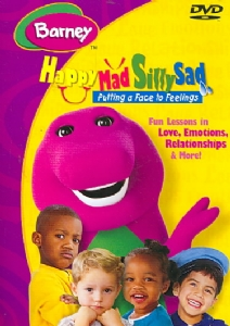 BARNEY:HAPPY MAD SILLY SAD - Format: [DVD Movie]