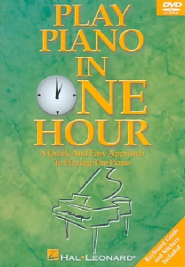 PLAY PIANO IN ONE HOUR - Format: [DVD Movie]