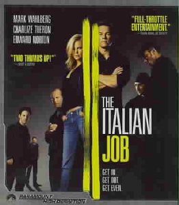 ITALIAN JOB - Blu-Ray Movie