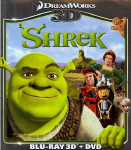 SHREK 3D - Blu-Ray Movie