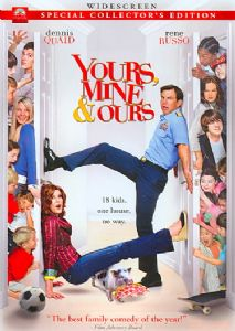 YOURS MINE & OURS - DVD Movie
