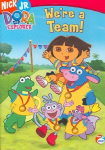 DORA THE EXPLORER:WE'RE A TEAM - Format: [DVD Movi