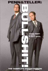 PENN & TELLER:BULLSHIT SEASON 8 - DVD Movie