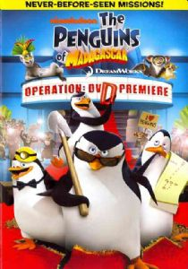 PENGUINS OF MADAGASCAR OPERATION - DVD Movie
