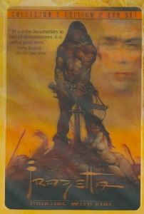 FRAZETTA PAINTING WITH FIRE (COLLECTO - DVD Movie