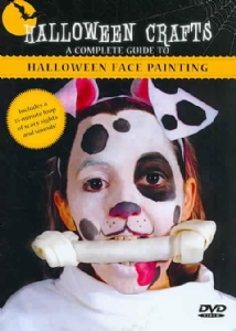 HALLOWEEN FACE PAINTING - DVD Movie
